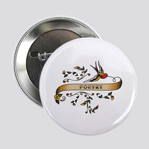 """Poetry Scroll 2.25"""" Button"""