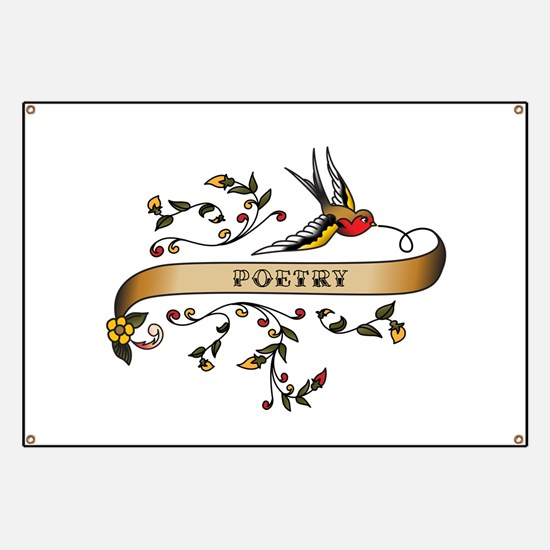 Poetry Scroll Banner