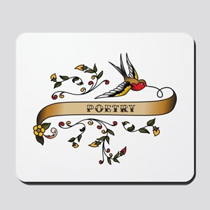 Poetry Scroll Mousepad