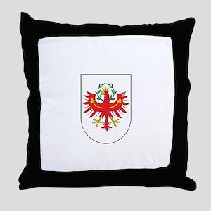 tirol city Throw Pillow