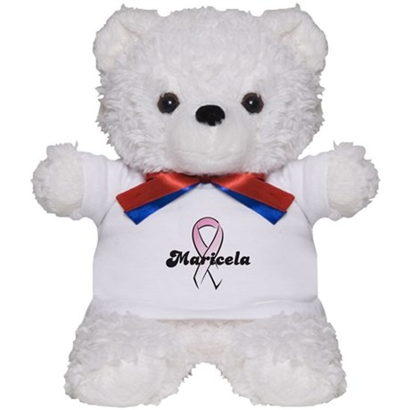Maricela Pink Ribbon Teddy Bear