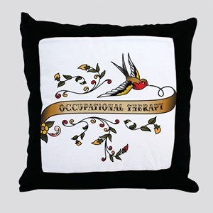 Occupational Therapy Scroll Throw Pillow