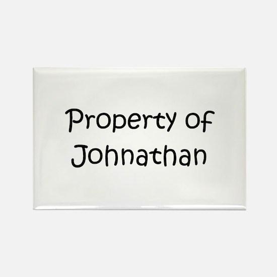 Funny Name johnathan Rectangle Magnet