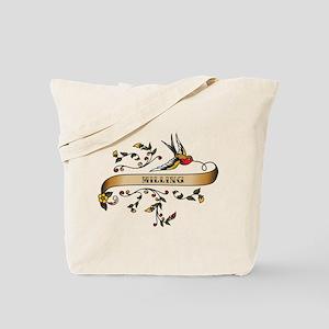 Milling Scroll Tote Bag