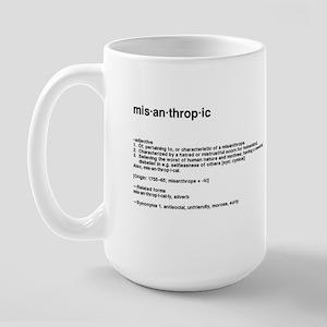 Misanthropic Large Mug