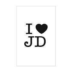 I Heart J.D. Posters