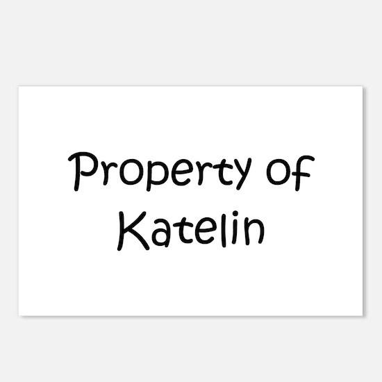 Cute Katelin Postcards (Package of 8)