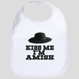 Kiss Me I'm Amish Bib