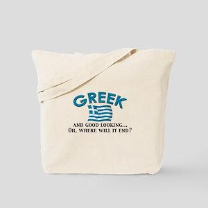 Good Lkg Greek 2 Tote Bag