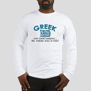 Good Lkg Greek 2 Long Sleeve T-Shirt