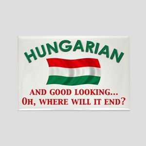 Good Lkg Hungarian 2 Rectangle Magnet