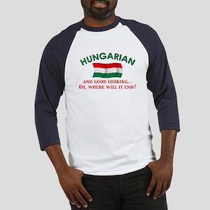 Good Lkg Hungarian 2 Baseball Jersey