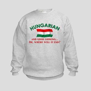 Good Lkg Hungarian 2 Kids Sweatshirt