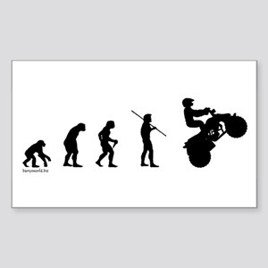ATV Evolution Rectangle Sticker 10 pk) Sticker