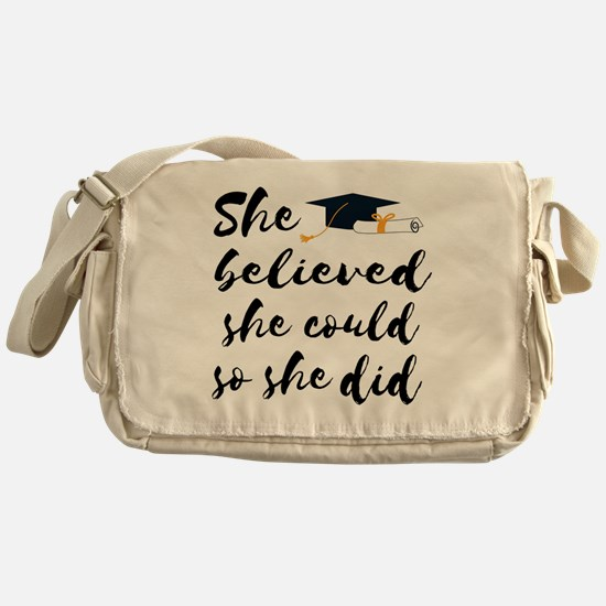 Cute Could Messenger Bag