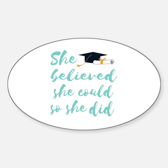 Cute Could Sticker (Oval)