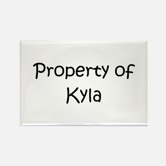 Cute Kyla Rectangle Magnet