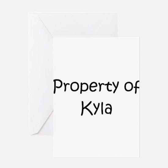 Cute Kyla Greeting Card