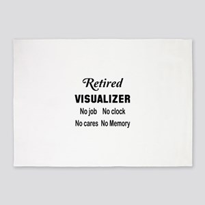 Retired Visualizer 5'x7'Area Rug