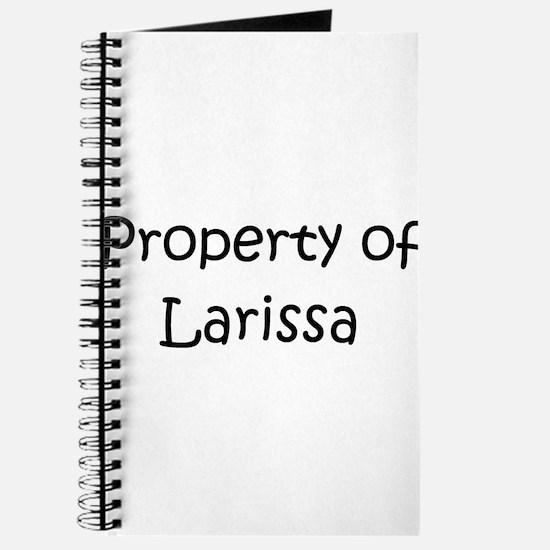 Cute Larissa Journal