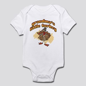 GRANDMA'S LITTLE TURKEY! Infant Bodysuit