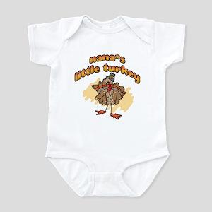NANA'S LITTLE TURKEY! Infant Bodysuit