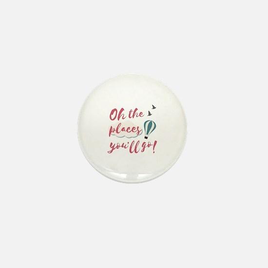 Cool Place Mini Button