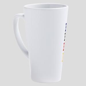 BUSY BUSY BUSY BEE! 17 oz Latte Mug