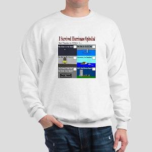 I Survived Hurricane Ophelia Sweatshirt