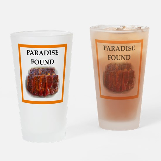 spare ribs Drinking Glass