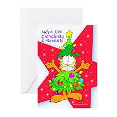 XMAS_ORN_CARDfr Greeting Cards