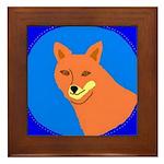 Coyote Framed Tile