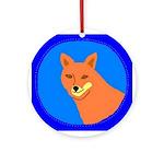Coyote Keepsake (Round)