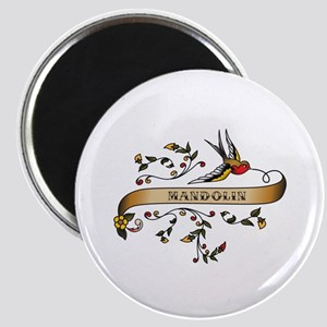 Mandolin Scroll Magnet
