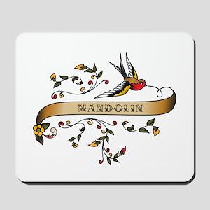 Mandolin Scroll Mousepad