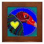 Turkey Vulture Framed Tile