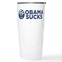 Obama Sucks Stainless Steel Travel Mug