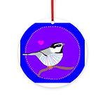 Chickadee Keepsake (Round)