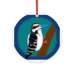 Woodpecker Keepsake (Round)