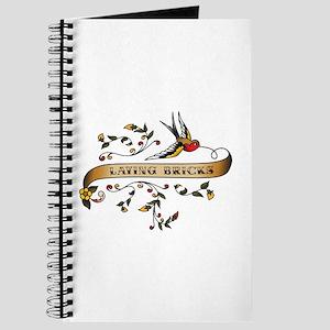 Laying Bricks Scroll Journal