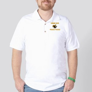 Kieran Says Gobble Gobble Golf Shirt