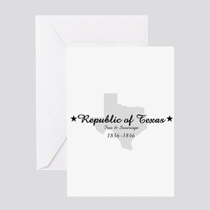 Republic of texas greeting cards cafepress republic of texas greeting card m4hsunfo