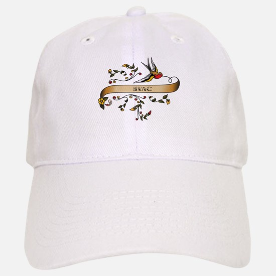 HVAC Scroll Baseball Baseball Cap