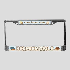 Hermiemobile (Hermit Crabs) License Plate Frame