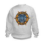 USS DUPONT Kids Sweatshirt