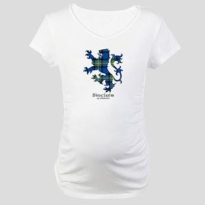 Lion-SinclairUlbster Maternity T-Shirt