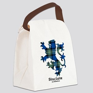 Lion-SinclairUlbster Canvas Lunch Bag