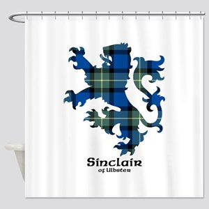 Lion-SinclairUlbster Shower Curtain