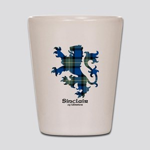 Lion-SinclairUlbster Shot Glass