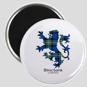 Lion-SinclairUlbster Magnet